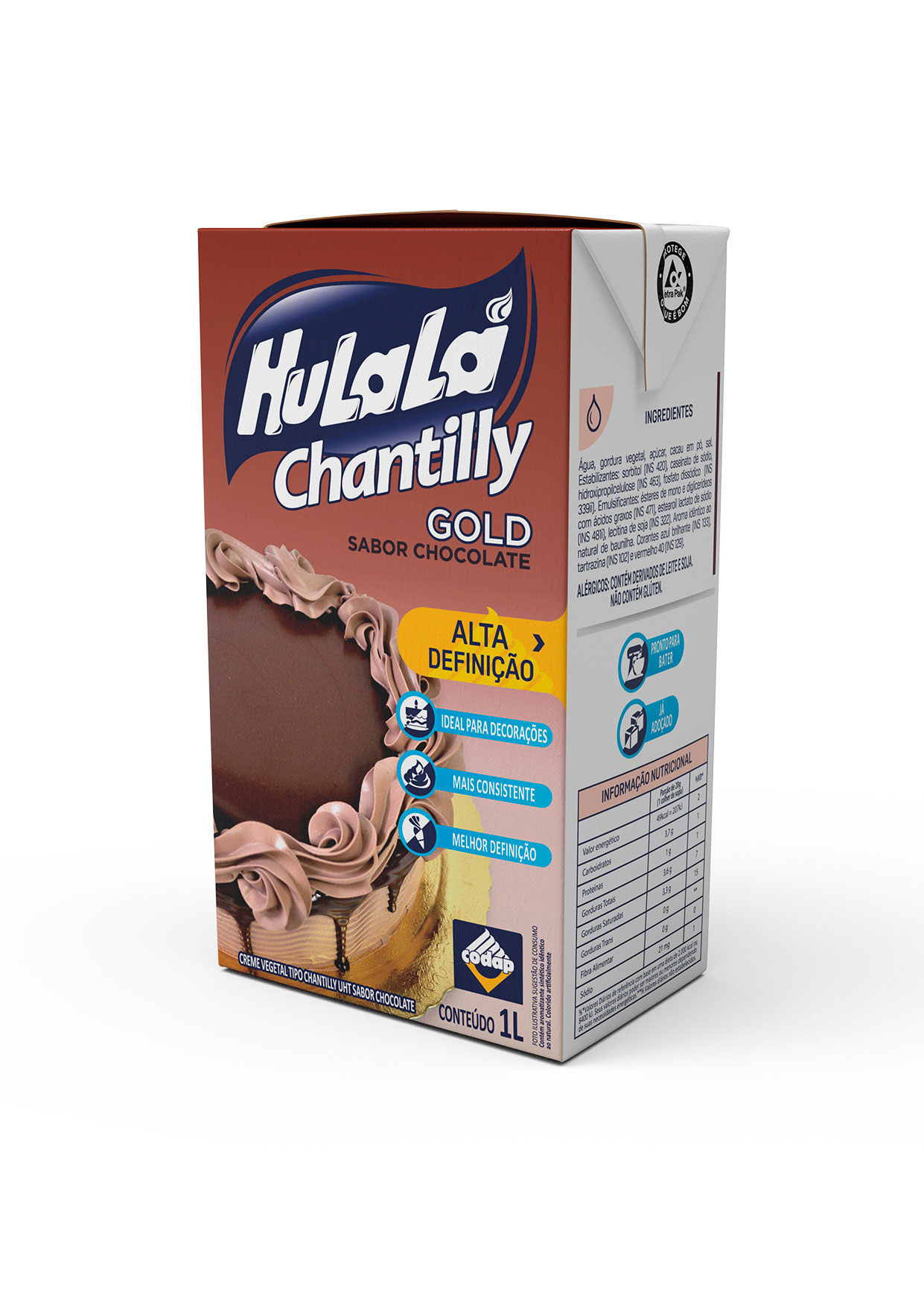 CHANTILLY GOLD HULALÁ CHOCOLATE