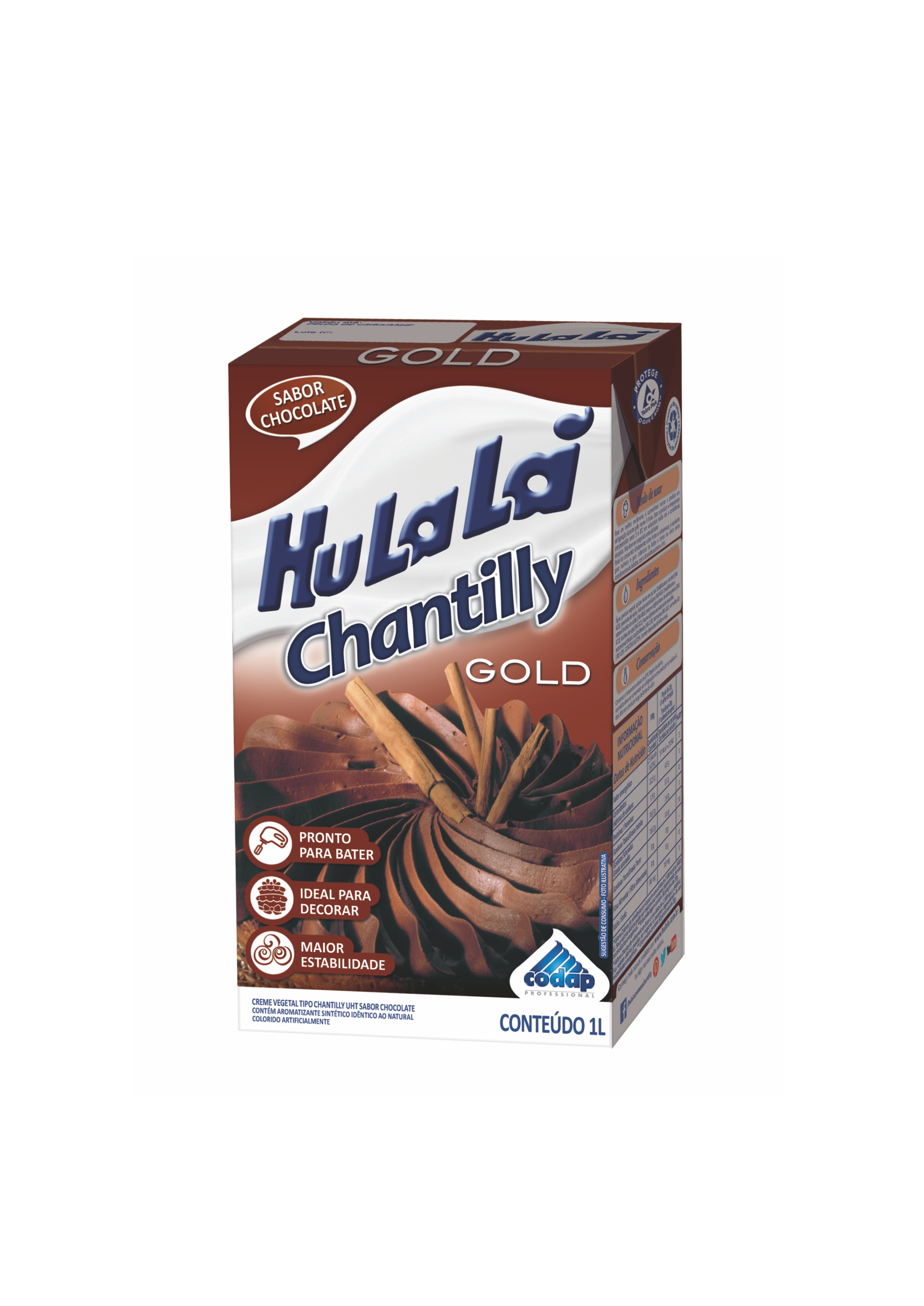CHANTILLY HULALÁ CHOCOLATE